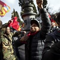 Rzym: Wielka manifestacja w obronie praw migrantów i uchodźców