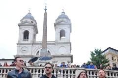 Rzymski koncert-niespodzianka Russela Crowe'a