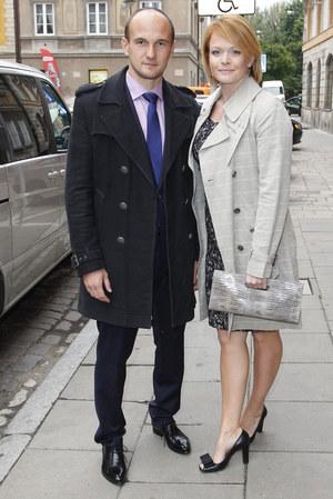 Są małżeństwem od pięciu lat. Michał Jarosiński jest operatorem telewizyjnym. /fot  /AKPA