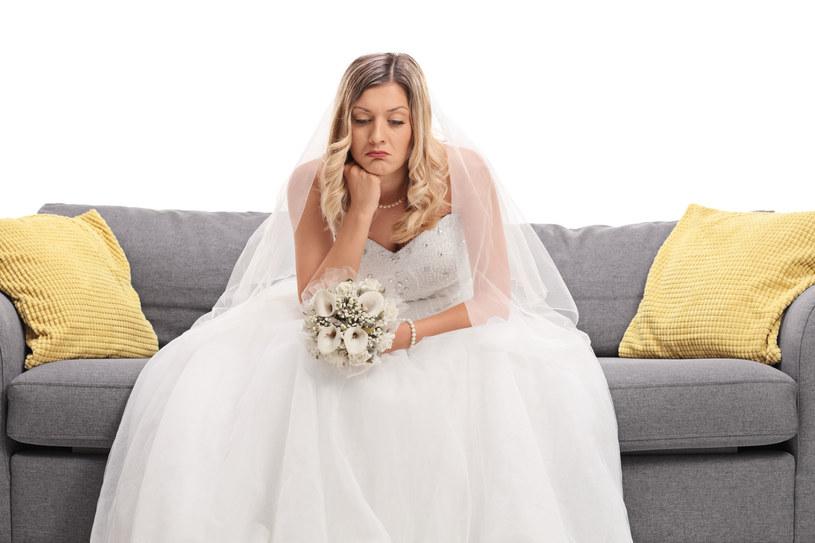 Są sytuacje, kiedy ślub zdecydowanie nie jest dobrym pomysłem /123RF/PICSEL