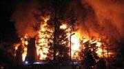 Są zarzuty za pożar w Kamieniu Pomorskim