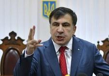 Saakaszwili ostrzega: Ukraina się rozpadnie