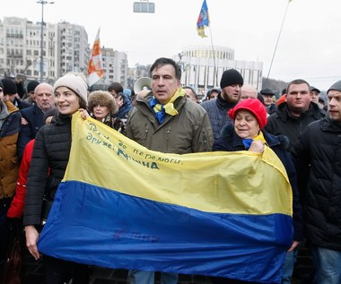 Saakaszwili przed ukraińskim parlamentem: Pozostanę tu aż do zwycięstwa nad złodziejami