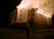 Saakaszwili: Rosja wtargnęła na Ukrainę, trwa niewypowiedziana wojna