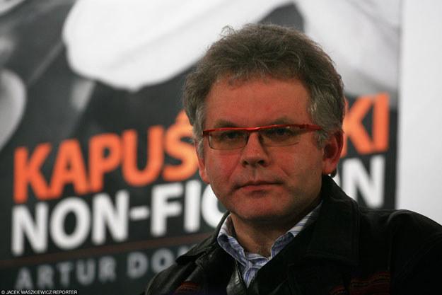 Sąd oddalił pozew przeciw Arturowi Domosławskiemu /Jacek Waszkiewicz /Reporter