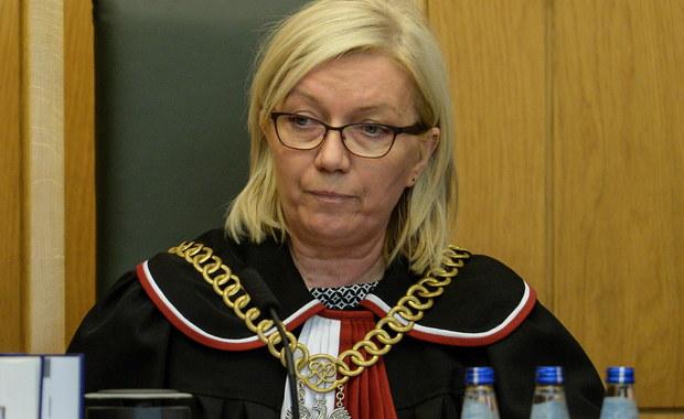 Sąd odroczył proces z powodu wątpliwości związanych z wyborem prezes TK. Jest reakcja TK
