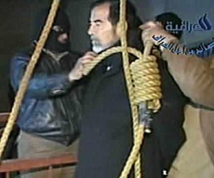 Saddam Husajn został powieszony /AFP