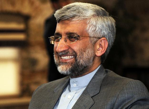 Said Dżalili, szef irańskiej Najwyższej Narodowej Rady Bezpieczeństwa podczas rozmów w Stambule /PAP