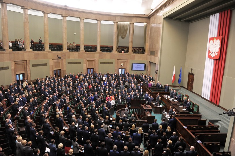 Sala plenarna Sejmu / zdj. ilustracyjne /Jan Bielecki /East News
