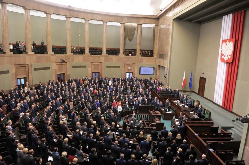 Sala plenarna Sejmu /Jan Bielecki /East News