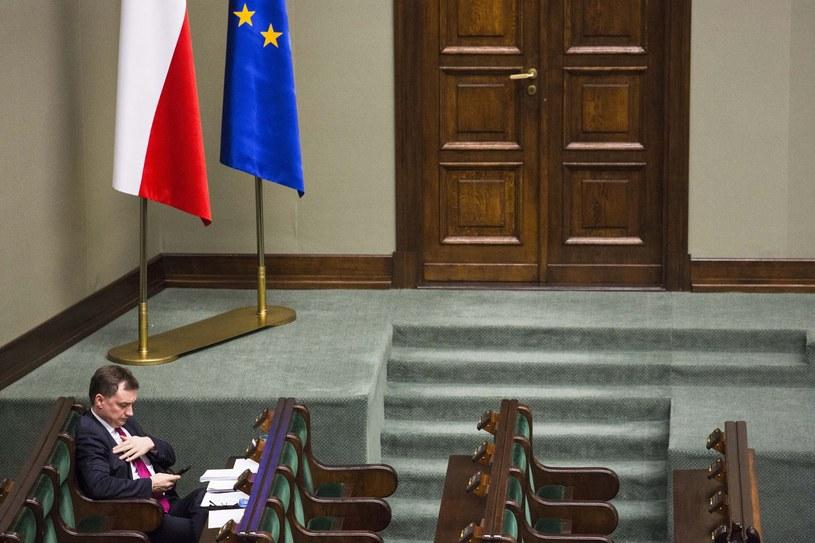 Sala posiedzeń Sejmu /Andrzej Hulimka/Reporter /East News