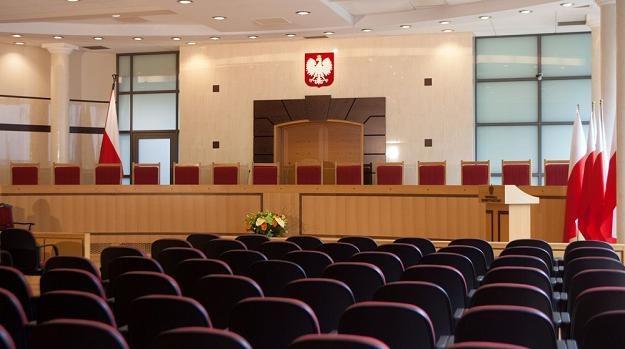 Sala posiedzeń Trybunału Konstytucyjnego /Reporter