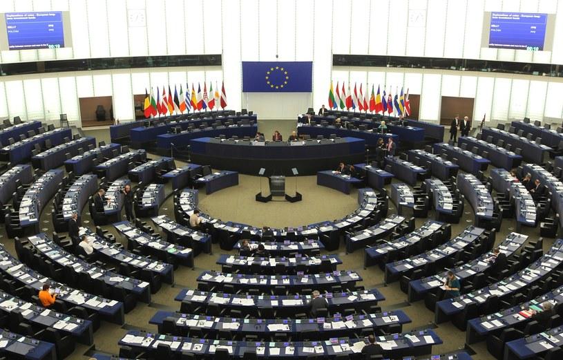 Sala posiedzeń w Parlamencie Europejskim /Fot. Stanislaw Kowalczuk /East News