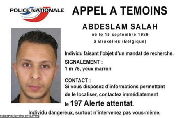 Salah Abdeslama jest głównym podejrzanym w związku z zamachami w Paryżu /Laski Diffusion /East News