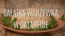 Sałatka warzywna w galarecie