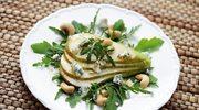 Sałatka z gruszką z gorgonzolą