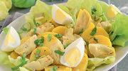 Sałatka z karczochów z jajkiem
