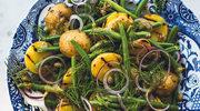Sałatka z opiekanych ziemniaków z fasolką szparagową