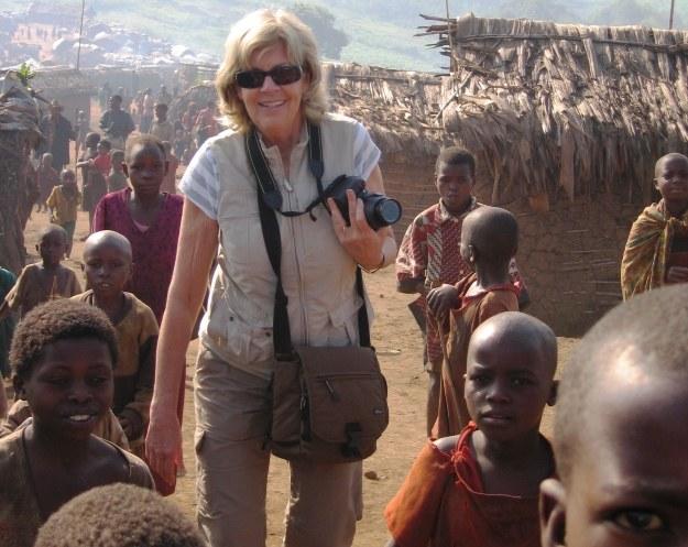 Sally Armstrong - kanadyjska dziennikarka i działaczka społeczna. Fot: Prószyński Media /