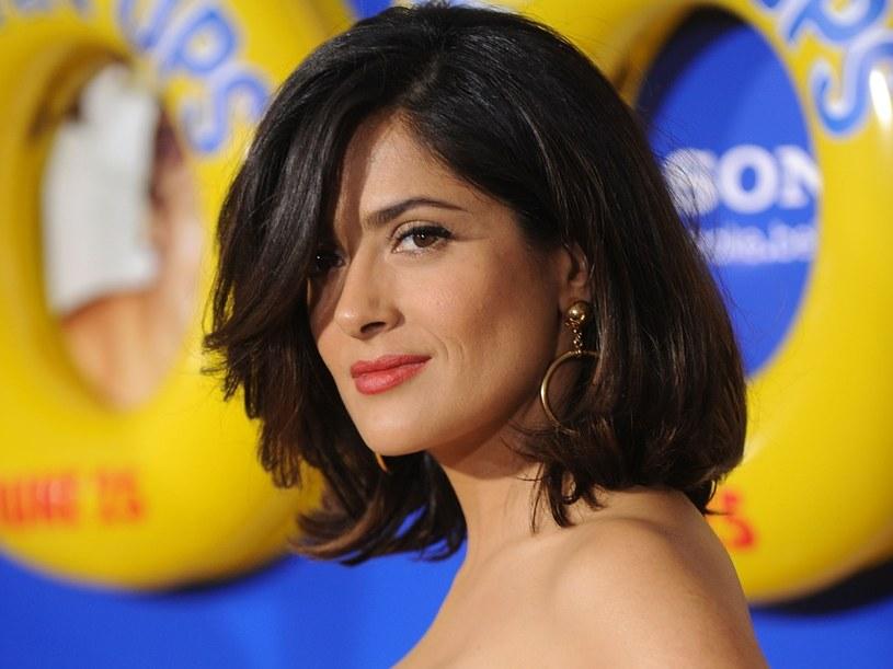 Salma Hayek...  /Getty Images/Flash Press Media