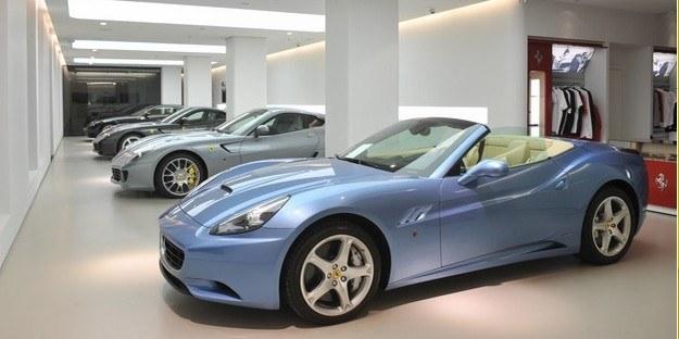 Salon Ferrari w Warszawie /RMF