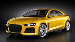 Salon Frankfurt 2013 - koncepcyjne Audi Sport quattro