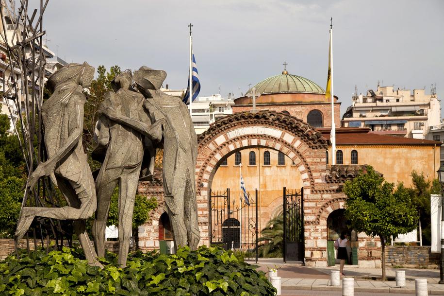 Saloniki. Zdjęcie ilustracyjne /Peter Schickert/Photoshot /PAP/EPA