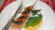 Saltimbocca z poledwicy wieprzowej