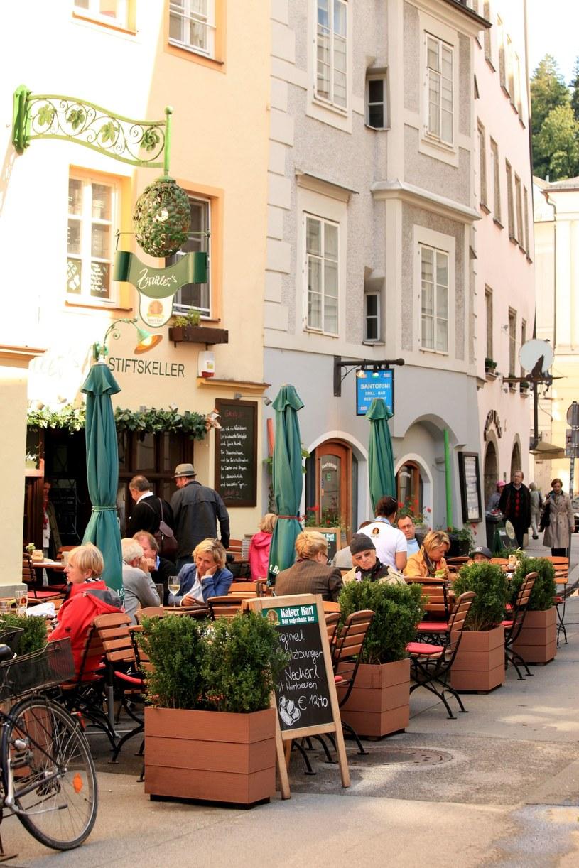 Salzburg to miasto, w którym jada się najlepiej w całej Austrii, a liczba znakomitych lokali jest imponująca /123RF/PICSEL