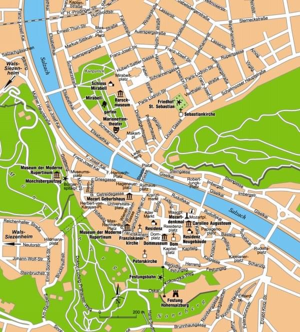 Salzburg - źródło Pascal /