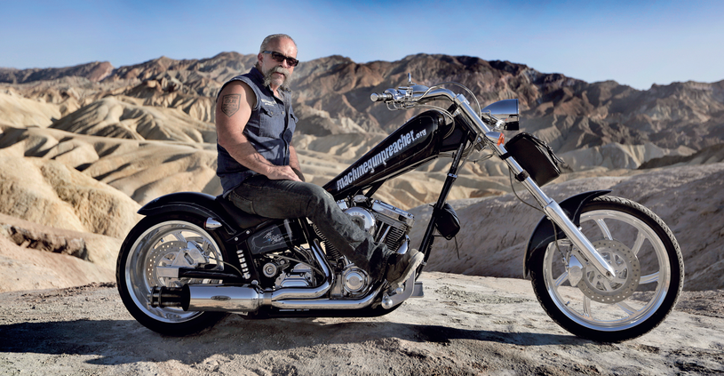 Sam Childers to wielki miłośnik motocykli /Kevin Evans /materiały promocyjne