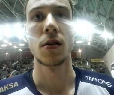 Sam Deroo z ZAKSY po triumfie w Jastrzębiu. Wideo