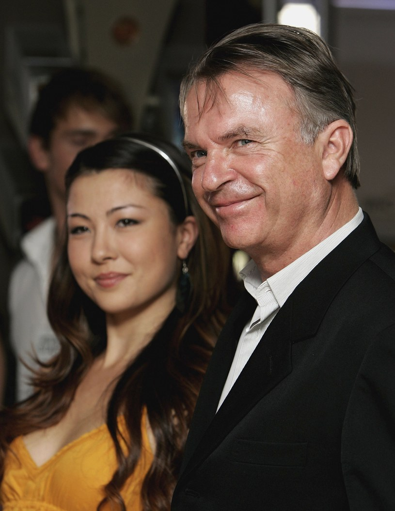 Sam Neill i Maiko /Getty Images