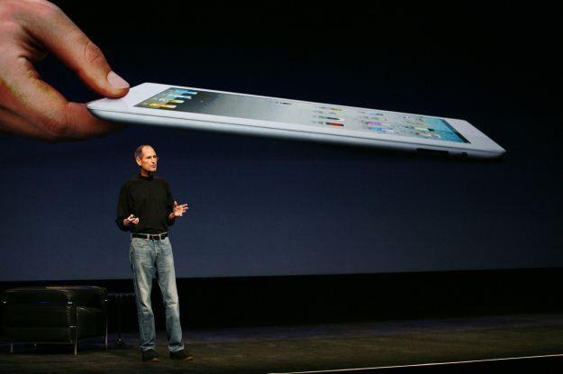 Sam Steve Jobs - pomimo swojej choroby - zaprezentował światu nowego iPada /AFP