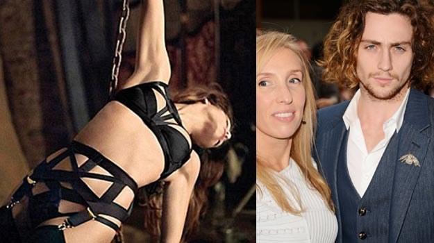 Sam Taylor-Johnson (na zdjęciu - z mężem) wyreżyseruje ekranizację pornograficznego hitu - fot.  J.M /Getty Images/Flash Press Media