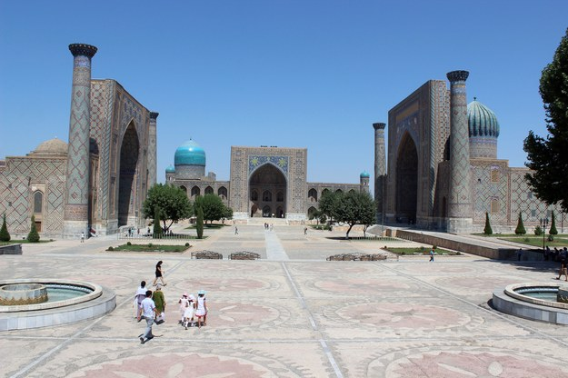 Samarkanda w Uzbekistanie /123/RF PICSEL
