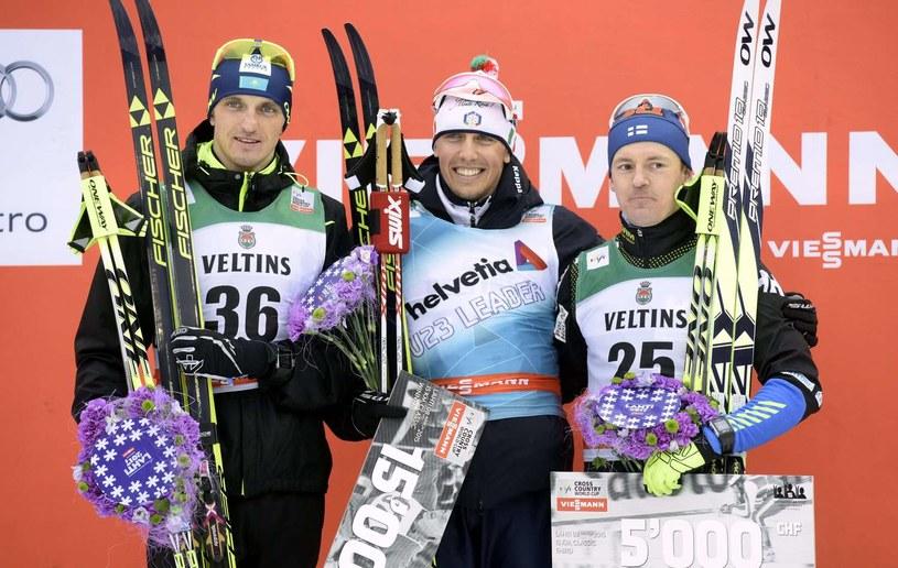 Sami Jauhojarvi (pierwszy z prawej) /AFP