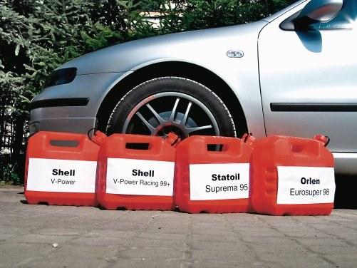 Samo paliwo nie podnosi mocy silnika /Motor