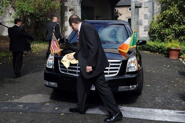 Samochód był czysty, ale niewiele to pomogło... /AFP