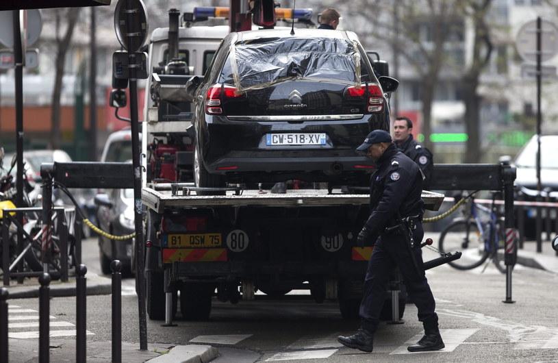 Samochód, który należał do zamachowców /PAP/EPA