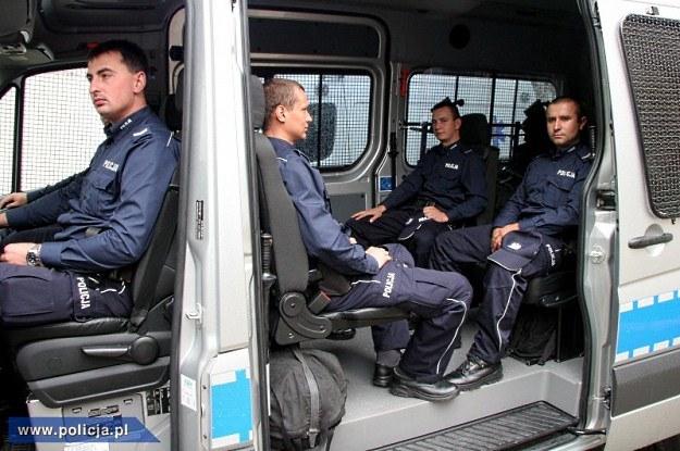 Samochód może zabrać osiem osób /Policja