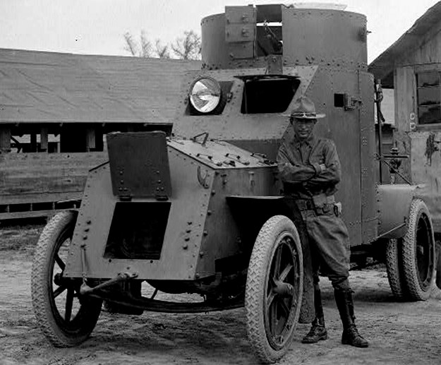 Samochód pancerny white, model z 1916 r., używany w wojsku amerykańskim. Takie wozy zostały wykorzystane w zagonie na Kowel  /Archiwum Tomasza Szczerbickiego   Czytaj więcej na http://nowahistoria.interia.pl/ii-rzeczpospolita/news-wojne-blyskawiczna-wymyslili-polacy,nId,1061696?utm_source=paste&utm_medium=paste&utm_campaign=msie