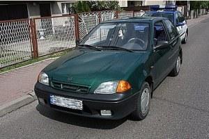 Samochód przestępców /Policja