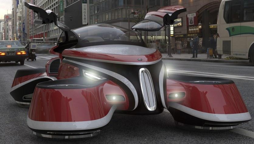 Samochód przyszłości inspirowany przeszłością