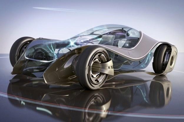 Samochód przyszłości według Nicka Kaloterakisa                   Fot. kollected.com /materiały prasowe
