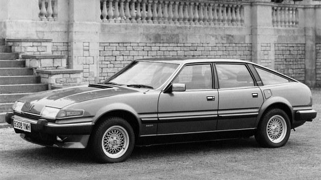 Samochód Rover 3500 jest w swym całkowicie nowym wydaniu jeszcze jednym przykładem nowoczesnego nadwozia 5-drzwiowego. /Rover
