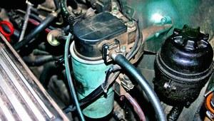 Samochód zimą - podgrzewacz paliwa