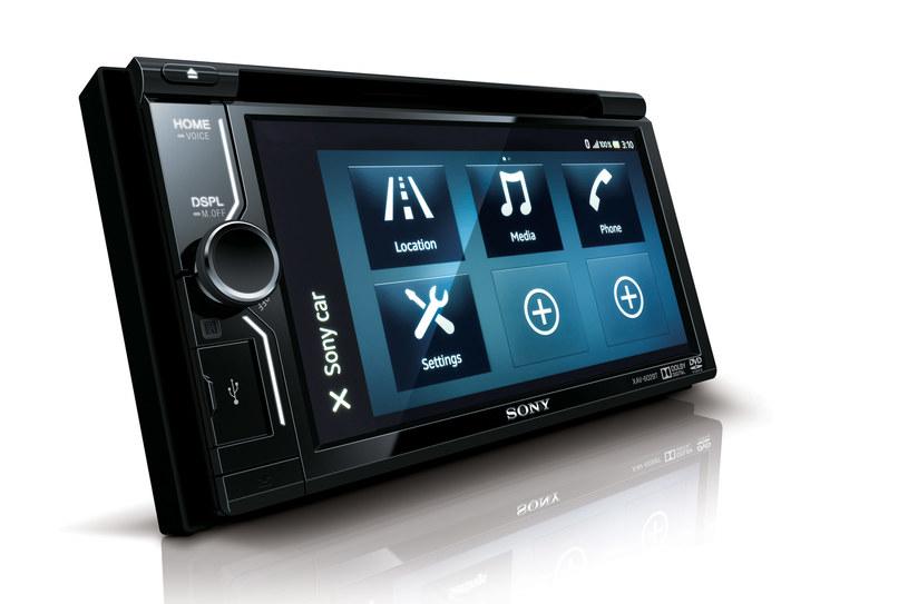 Samochodowy zestaw AV Sony XAV-602BT /materiały prasowe