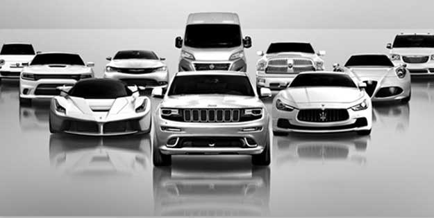 Samochody grupy Fiat Chrysler Automobiles /