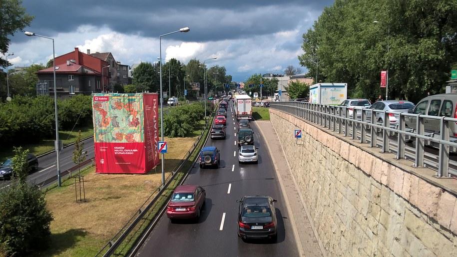 Samochody wyjeżdżające z tunelu pod rondem Grunwaldzkim (zdjęcie ilustracyjne) /Łukasz Łaskawiec /RMF FM